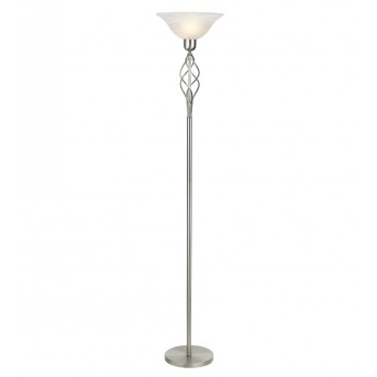 Classic Floor Stand - Satin Nickel