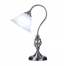 Classic Table Lamp - Satin Nickel