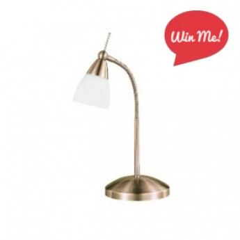 Flora Touch Desk Lamp - Antique