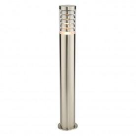 Tango bollard IP44 9.2W warm white floor - brushed stainless steel