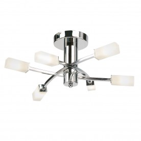 Havana 6lt semi flush 25W - chrome plate