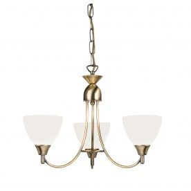 Alton 3lt pendant 60W - antique brass