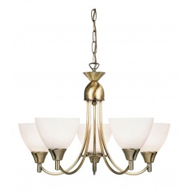 Alton 5lt pendant 60W - antique brass