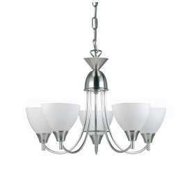 Alton 5lt pendant 60W - satin chrome