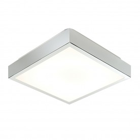 Cubita square flush HF IP44 28W - chrome plate