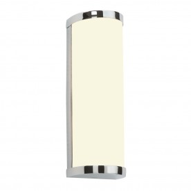 Ice 2lt wall IP44 28W - chrome plate