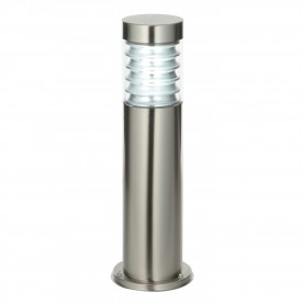 Equinox post IP44 23W floor - marine grade brushed stainless steel