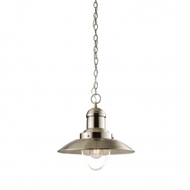 Mendip 1lt pendant 40W - satin nickel
