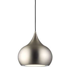 Brosnan 1lt pendant 18W cool white - matt nickel