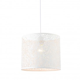 Secret garden 300mm non electric 60W pendant - matt ivory