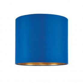 Boutique 12 inch shade - midnight blue silk