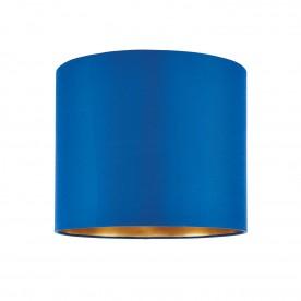 Boutique 12 inch shade - midnight blue silk