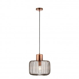 Nicola 1lt pendant 40W - antique copper