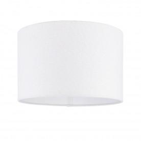 Obi 14 inch shade - vintage white linen