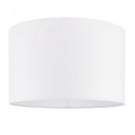 Obi 16 inch shade - vintage white linen