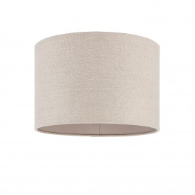 Obi 12 inch shade - natural linen