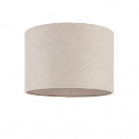 Obi 12 inch shade - natural linen