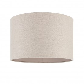 Obi 14 inch shade - natural linen