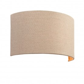 Obi 1lt wall 40W - natural linen natural polyester cotton