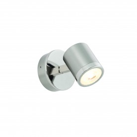 Oracle 1lt plate 5W warm white spot - bright nickel