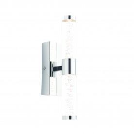 Essence 2lt wall IP44 3W warm white - chrome plate