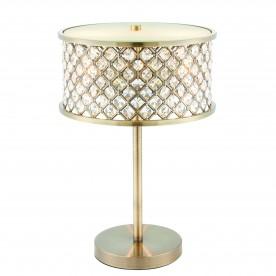 Hudson 2lt table 40W SW - antique brass