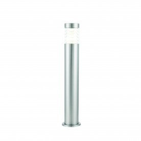 Equinox LED bollard IP44 10W cool white floor - marine grade brushed stainless steel