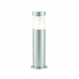 Equinox LED post IP44 10W cool white floor - marine grade brushed stainless steel