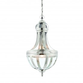 Vienna 1lt pendant 40W - bright nickel plated brass
