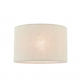 Anita 14 inch shade - natural linen