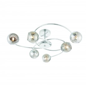 Aerith 6lt semi flush 28W - chrome plate