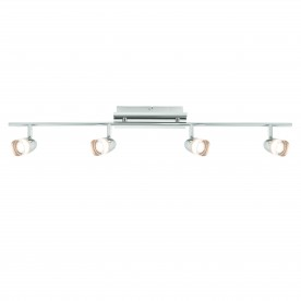 Saul 4lt bar 3.81W warm white spot - bright nickel