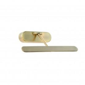 Jersey 1lt wall 5W warm white - antique brass