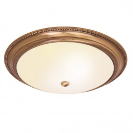 Atlas 2lt flush 40W - antique brass