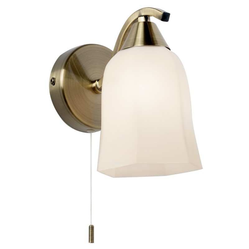 Alonso 1lt wall 40W SW - antique brass