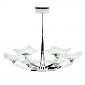 Ayres 6lt semi flush 33W - chrome plate