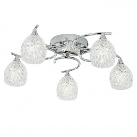 Boyer 5lt semi flush 33W - chrome plate