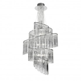 Camille 24lt pendant 10W - clear glass