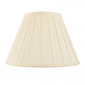Carla 10 inch shade - cream cotton mix