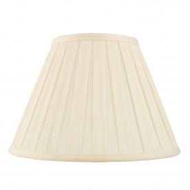 Carla 12 inch shade - cream cotton mix