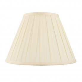 Carla 18 inch shade - cream cotton mix