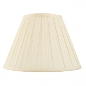 Carla 6 inch shade - cream cotton mix