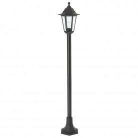 Bayswater lamp post IP44 60W floor - black polypropylene