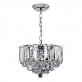 Fargo 3lt small pendant 60W - chrome plate