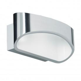 Johnson 1lt wall 5W warm white - polished aluminium