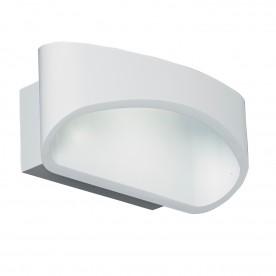 Johnson 1lt wall 5W warm white - matt white