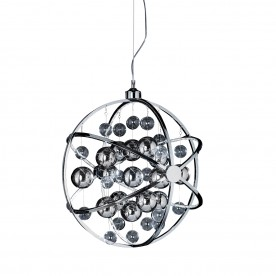 PLANET 600mm pendant 12.7W warm white - chrome plate