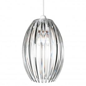 Dorney non electric 60W pendant - clear acrylic