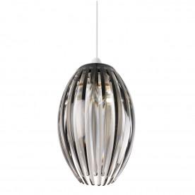 Dorney non electric 60W pendant - smokey acrylic