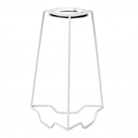 Shade carrier 7 inch accessory - gloss white